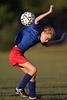 Soccer Ball Striking Back Picture