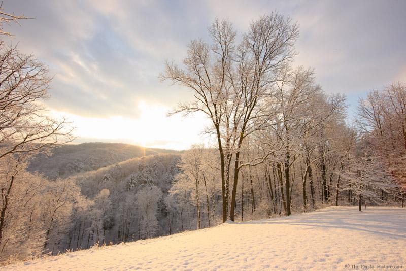 Sunrise Snow