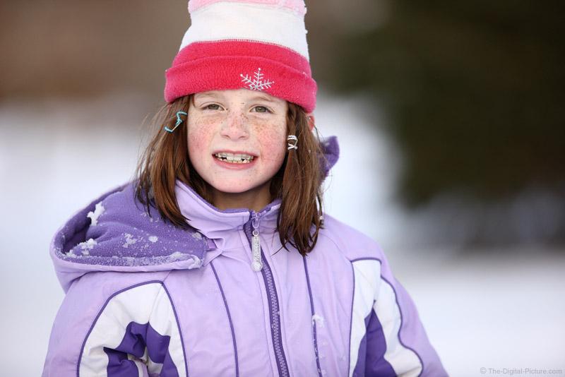 Outdoor Winter Portrait