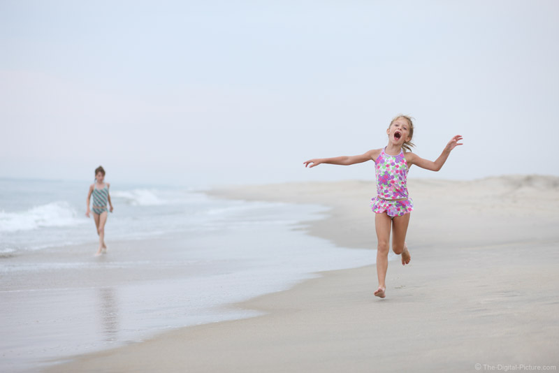 Running on the Beach Picture