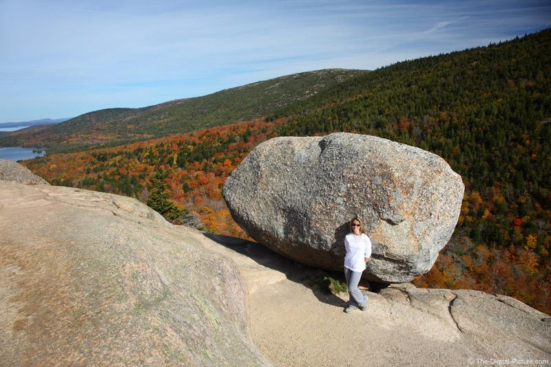 Big Rock on Bubble Mountain