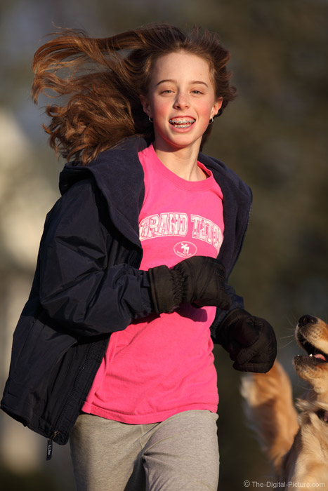 Running with the Dog Picture