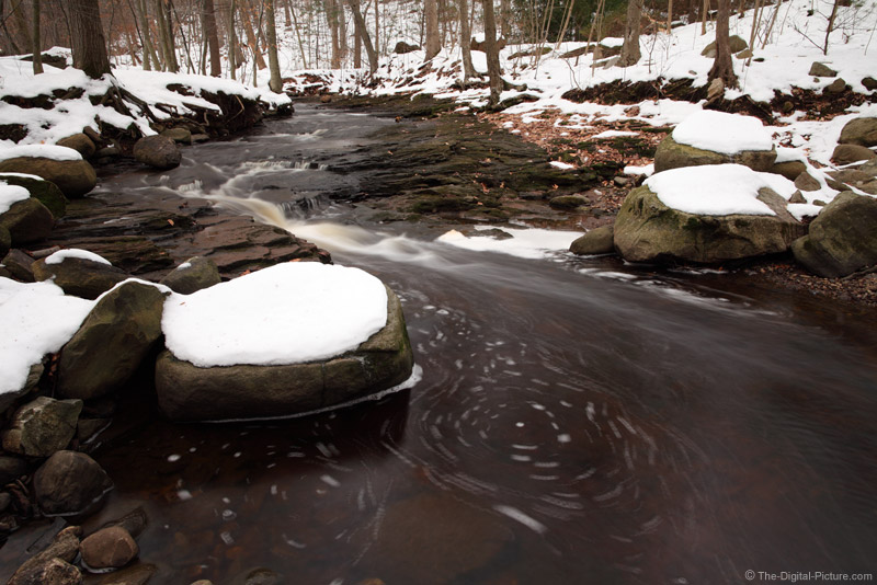 Winter Water Scene
