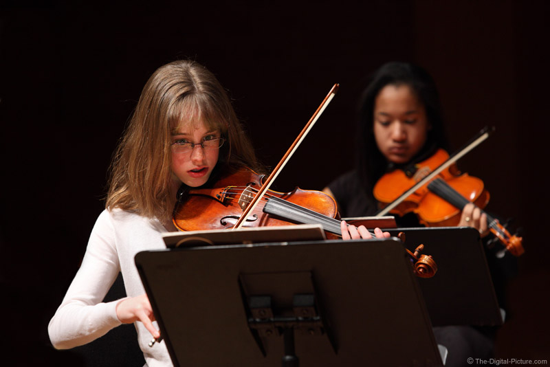 Orchestra Closeup