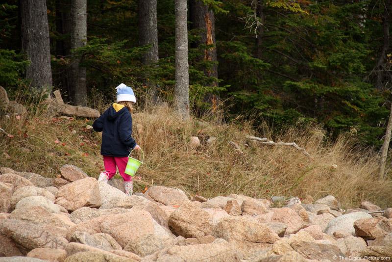 Walking in the Rocks