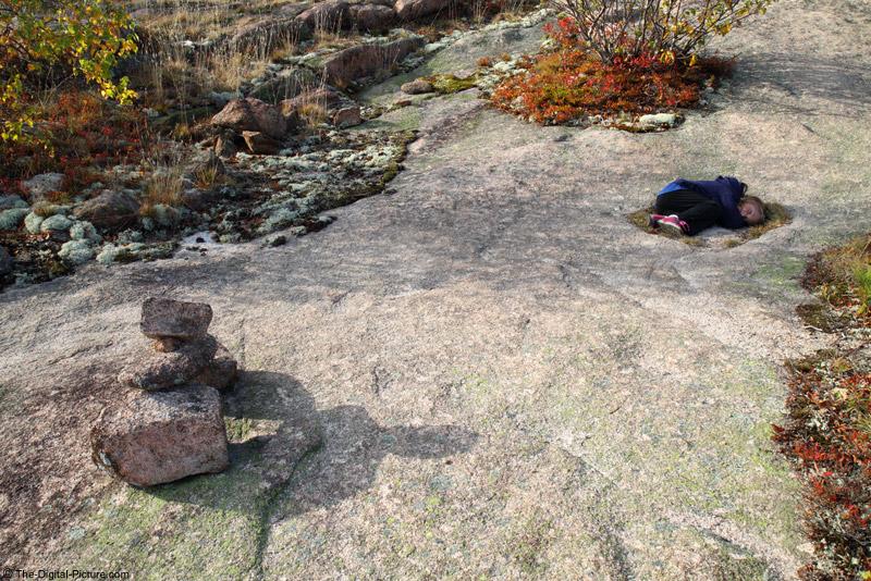 Acadia National Park Cairn