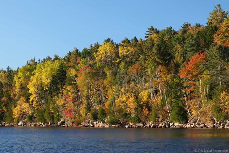 Maine Coast in the Fall
