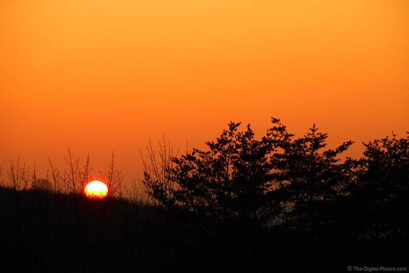Orange Sky and Sunset