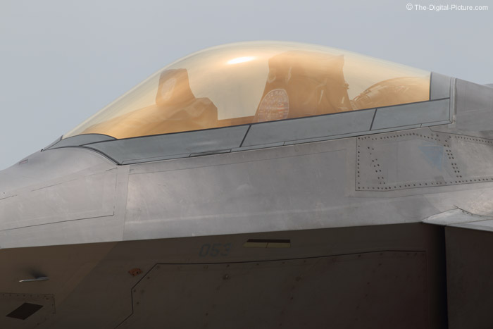 Clean Lines of an F-22 Raptor
