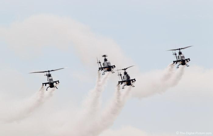 US Army Sky Soldiers Cobra Demonstration Team