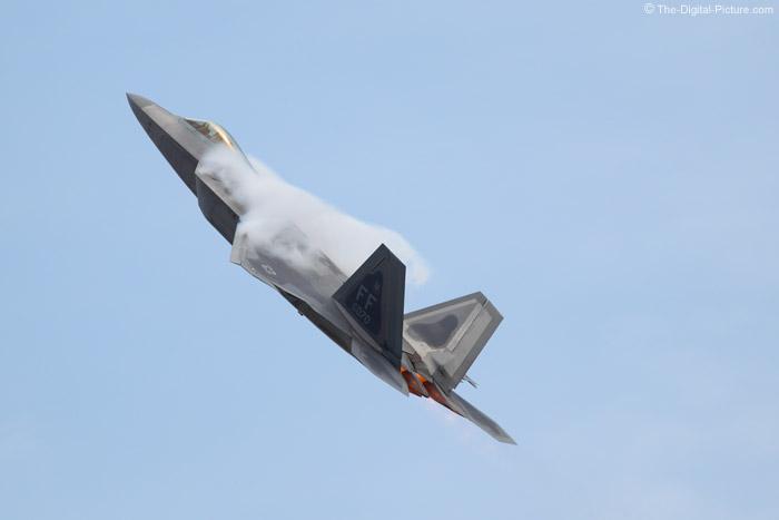F-22 Raptor and Water Vapor