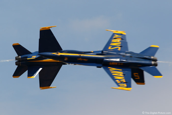 Blue Angels Opposing Pass