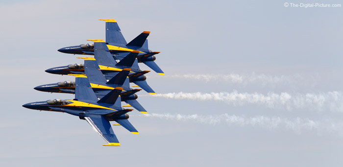 Blue Angels Line Abreast