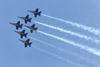 Blue Angels in Delta Formation