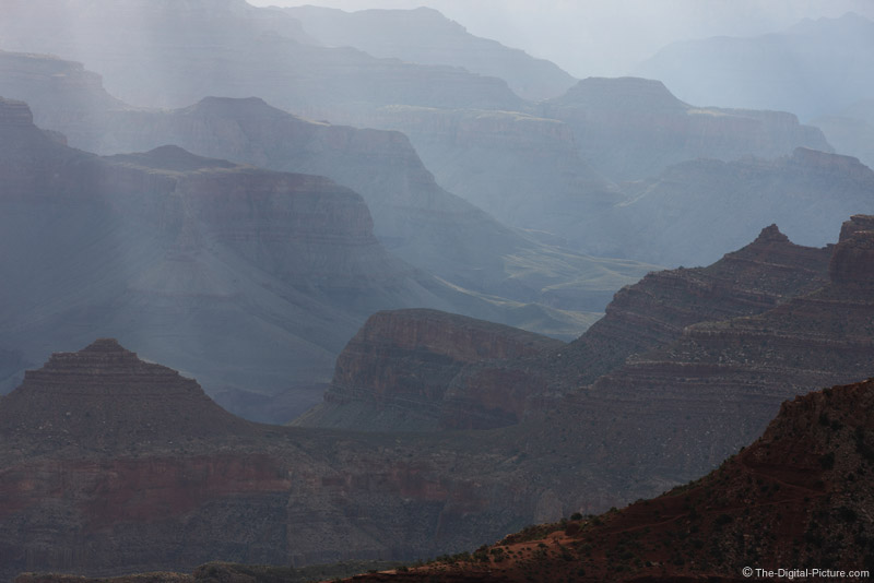 Layers and Rays During Grand Canyon Sunrise