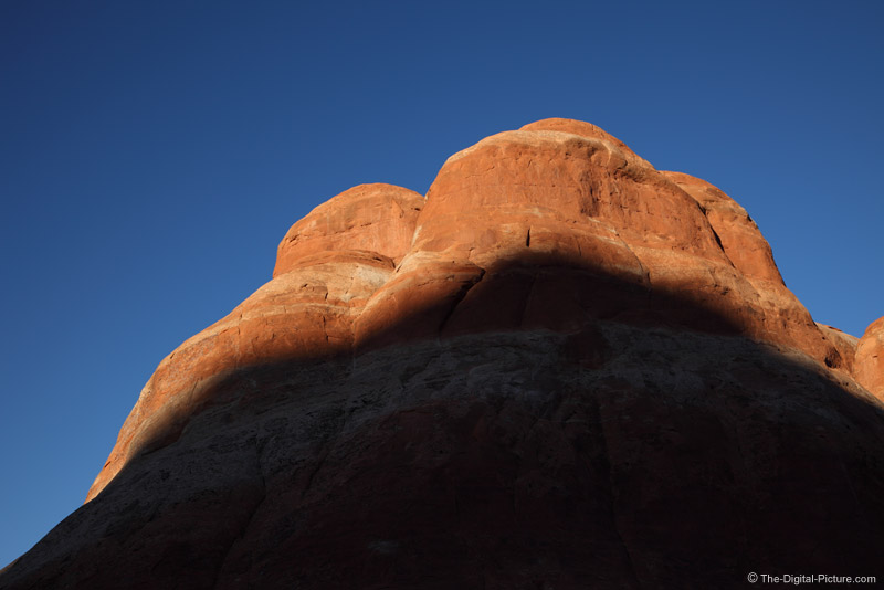 Shadow on Big Rock, Arches NP