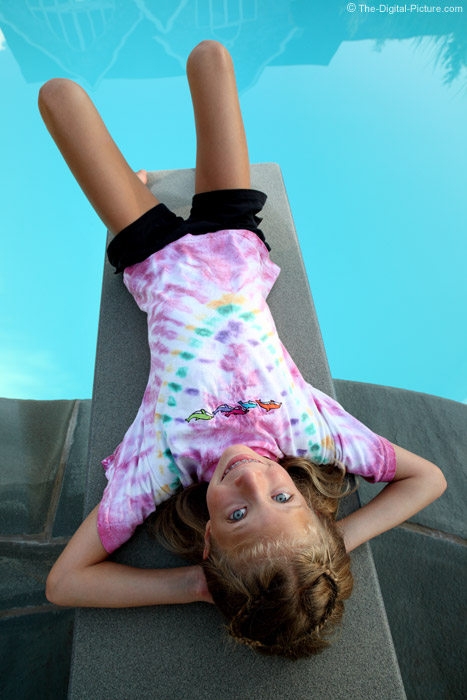 Relaxing on the Diving Board