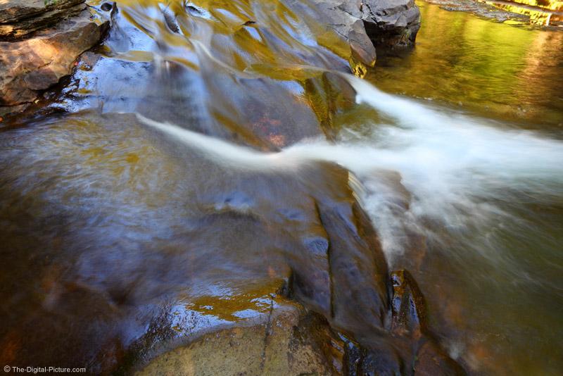 Small Rock Run Waterfall