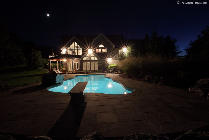 House and Pool Picture