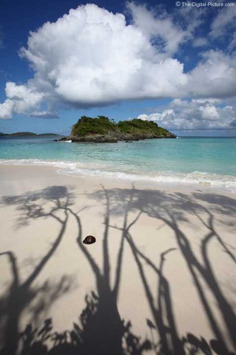 Shadows on the Beach at Trunk Bay