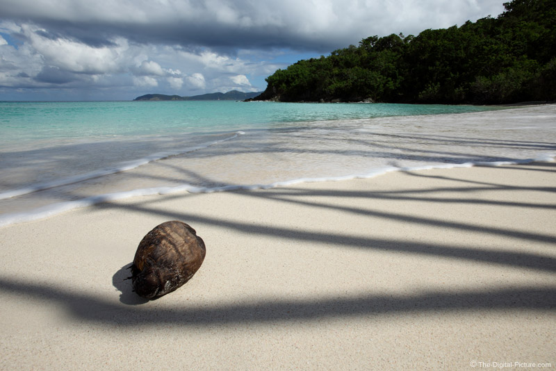 Trunk Bay Coconut and Shadows