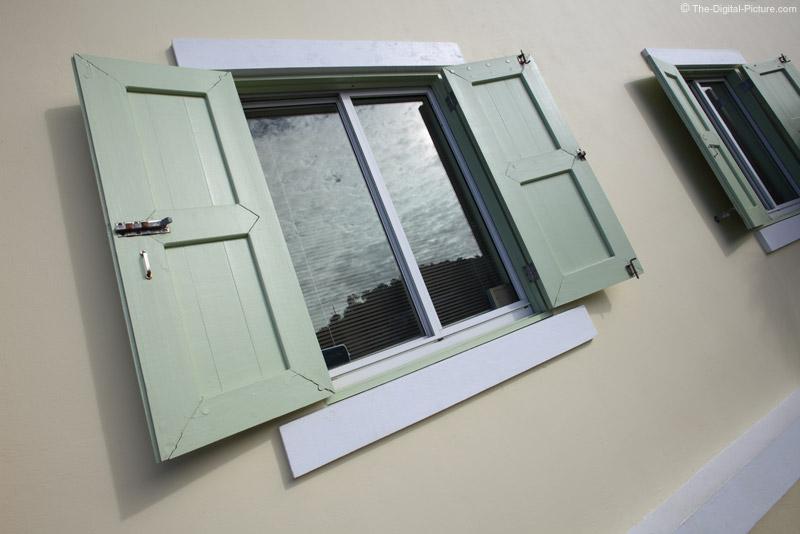 Virgin Islands National Park Visitors Center Window