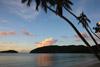 Sunset at Maho Bay, St. John