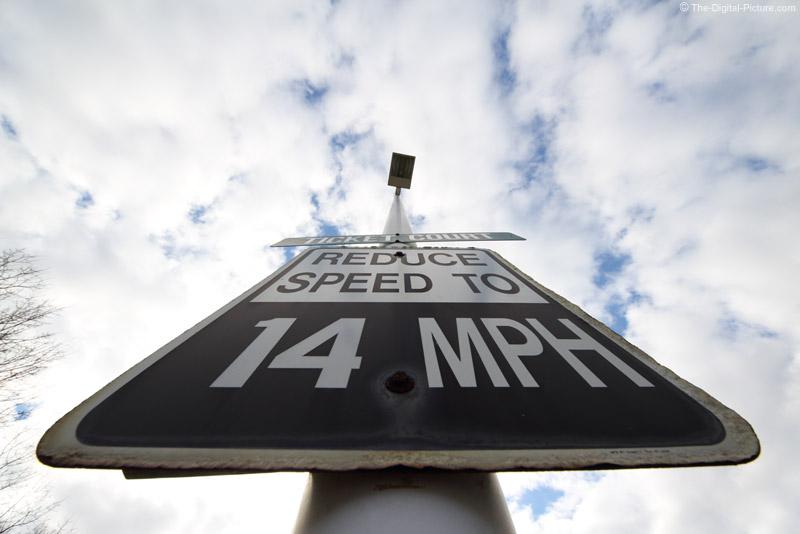 14 MPH Speed Limit