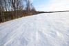 Windswept Snow Patterns