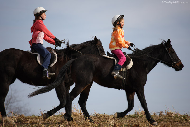 Sisters on Horses