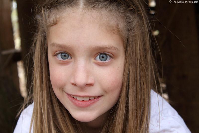 Tightly Framed 55mm Portrait