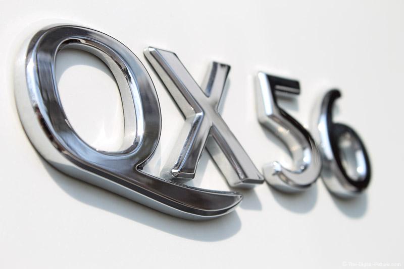Infiniti QX56 Close-up