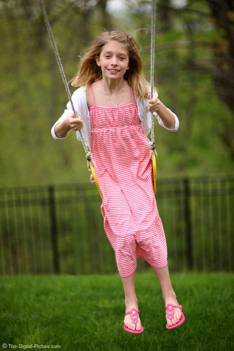 Kid Swinging Picture