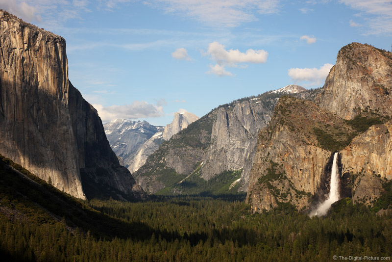 Yosemite Valley, Tunnel View, Yosemite National Park