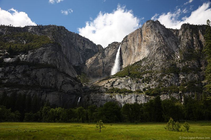 Upper and Lower Yosemite Falls Picture