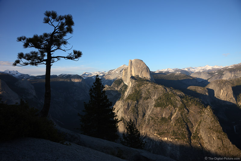 Clear Evening at Glacier Point