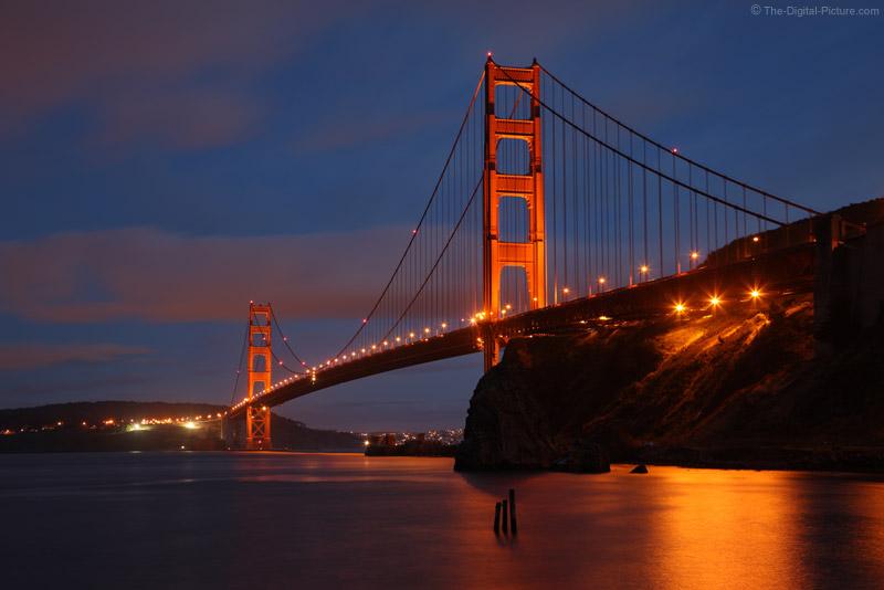 The Golden Gate Bridge at Twilight