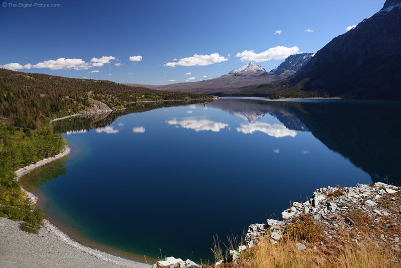 St Mary Lake Mirror
