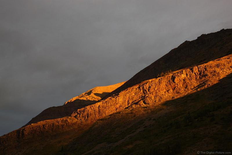 Sunrise at Many Glacier, Glacier National Park