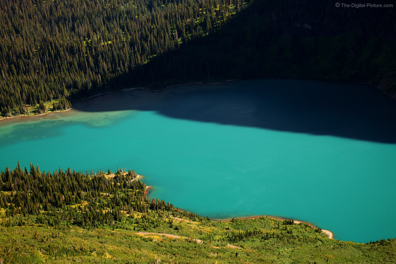 Glowing Grinnell Lake, Glacier National Park