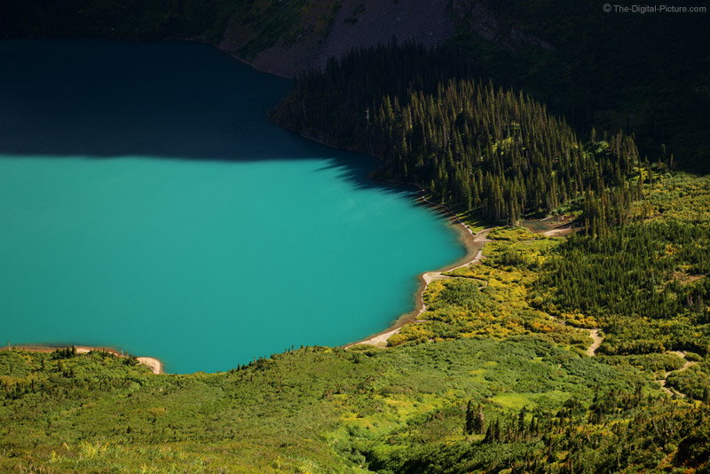 Grinnell Lake Closeup