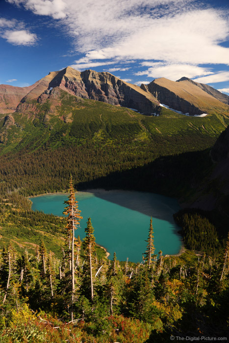 Grinnell Lake and Its Surroundings