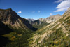 Crypt Lake Trail View