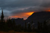 Fire on the Mountain, Logan Pass, Glacier National Park