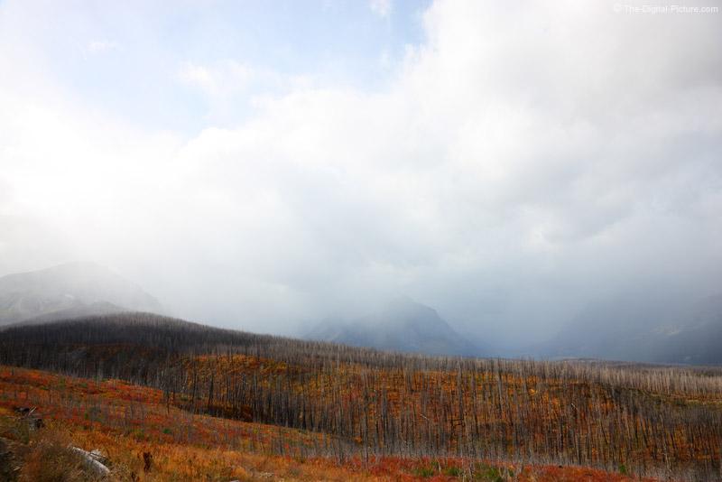 Storm Over Glacier National Park