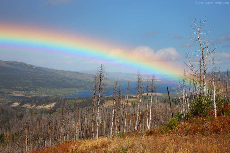 Rainbow Over Lower St Mary Lake