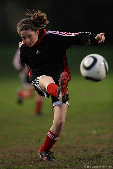 Sport Photography Under the Lights