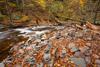 Little Piles of Rocks Beside Kitchen Creek