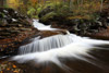 Ricketts Glenn Falls in the Fall