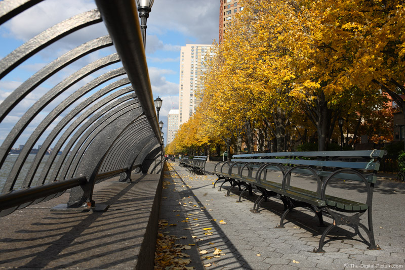 Under the Fence at Battery Park City